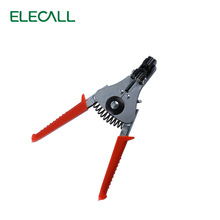 ELECALL Automatic Cable Wire Stripper Crimper Stripping Cutter 0.5-2.2mm Pliers Herramientas Tool(China)