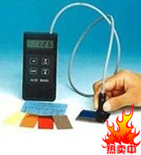 ACE3000 coating thickness gauge thickness gauge for measuring non magnetic paint powder plastic rubber