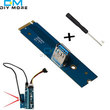 M2 NGFF PCI-e X16 Slot for Data Mining Transfer Card Riser VGA Extension adapter