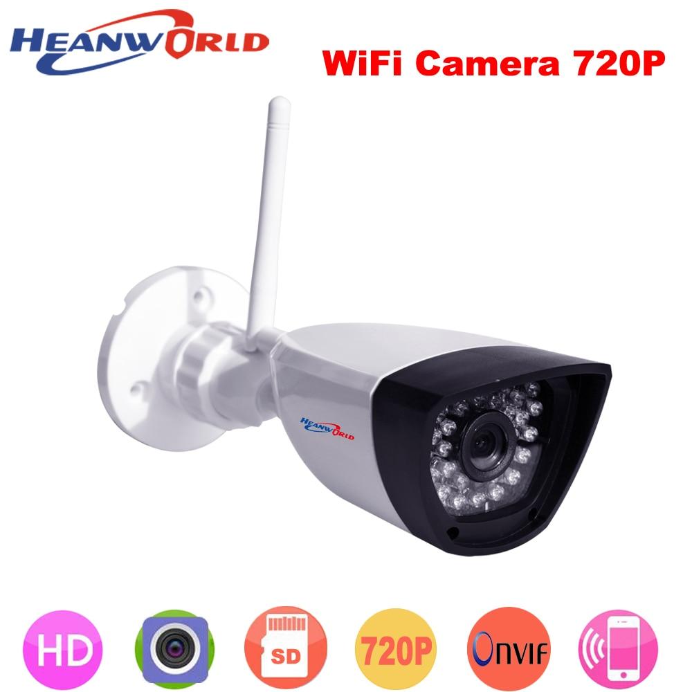 Megapixel 720P Wireless Wired IP Camera Wifi IR Night Vision ONVIF Home Surveillance Video Security Camera CCTV Network IP Cam<br>