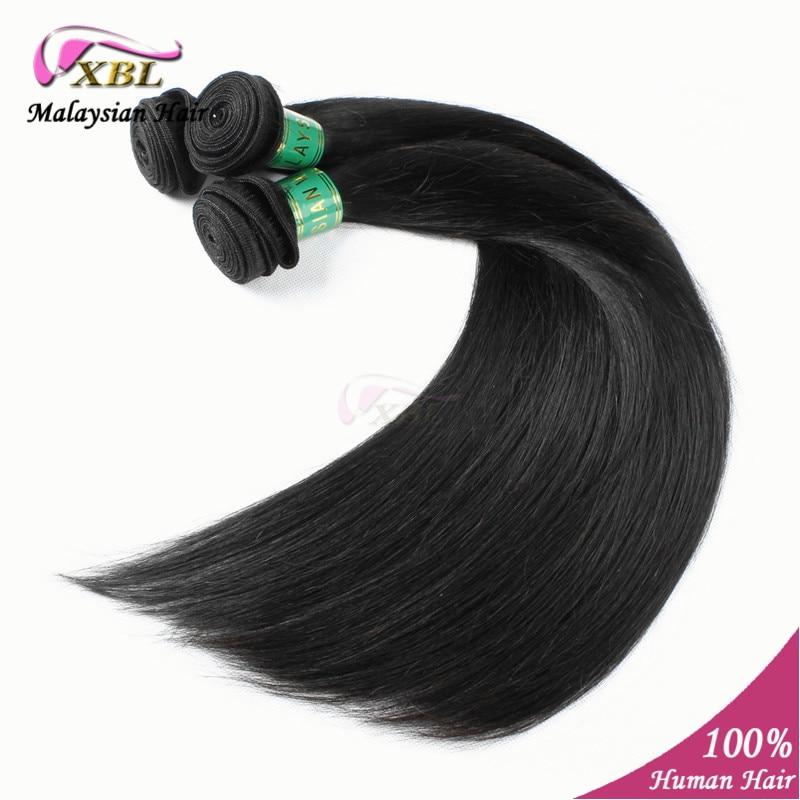 XBL Hair:  Unprocessed Straight Malasia Hair 3 pcs/lot 100% Human Virgin Remy Hair Extension bundles 8 to 24 Free Shipping XBL<br><br>Aliexpress