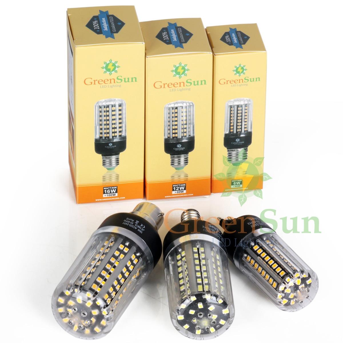 Dimmable High Lumens 6W 12W 16W 2835 SMD LED Corn Bulb Light E14 E27 G9 GU10 B22 LED Light Lamp 220V Energy Saving No Flicker<br><br>Aliexpress