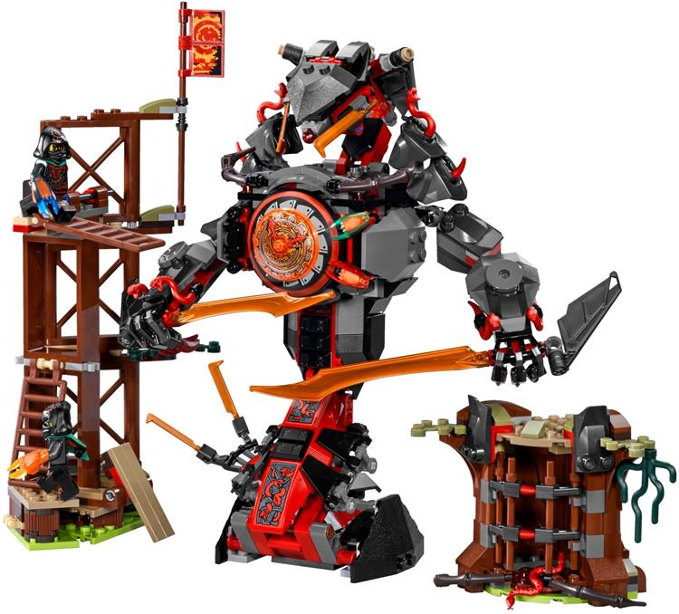 Lepin 06042 Ninjagoes Dawn of Iron Doom Building Blocks Toys Kids Gift Bricks  toys for children<br><br>Aliexpress
