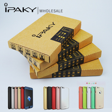 Trade Price ipaky Original 100% Brand Wholesale 10 Piece 360 Degree Full Body Coverage Cases for Apple iphone 5 SE 6 6S 7 7 Plus