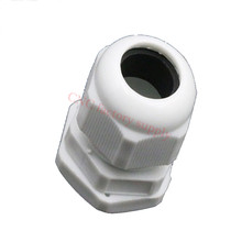 10pcs/lot High quality  IP68 M16 x 1.5  for 4-8mm Cable CE Waterproof Nylon Plastic Cable Gland Connector