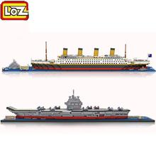 RMS Titanic Ship 3D Building Blocks Toy Titanic Boat 3D Model Educational Gift Toy for Children compatible Brand blocks(China)