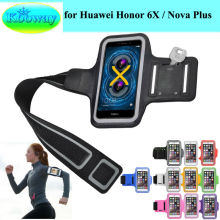 Waterproof Phone Bag for Huawei Honor Holly 3, Honor 6X, Enjoy 6, Honor8 Smart Sport Arm Band Casual Running Riding Support Case