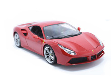Maisto Bburago 1:18 488 GTB Diecast Model Car Toy New In Box Free Shipping