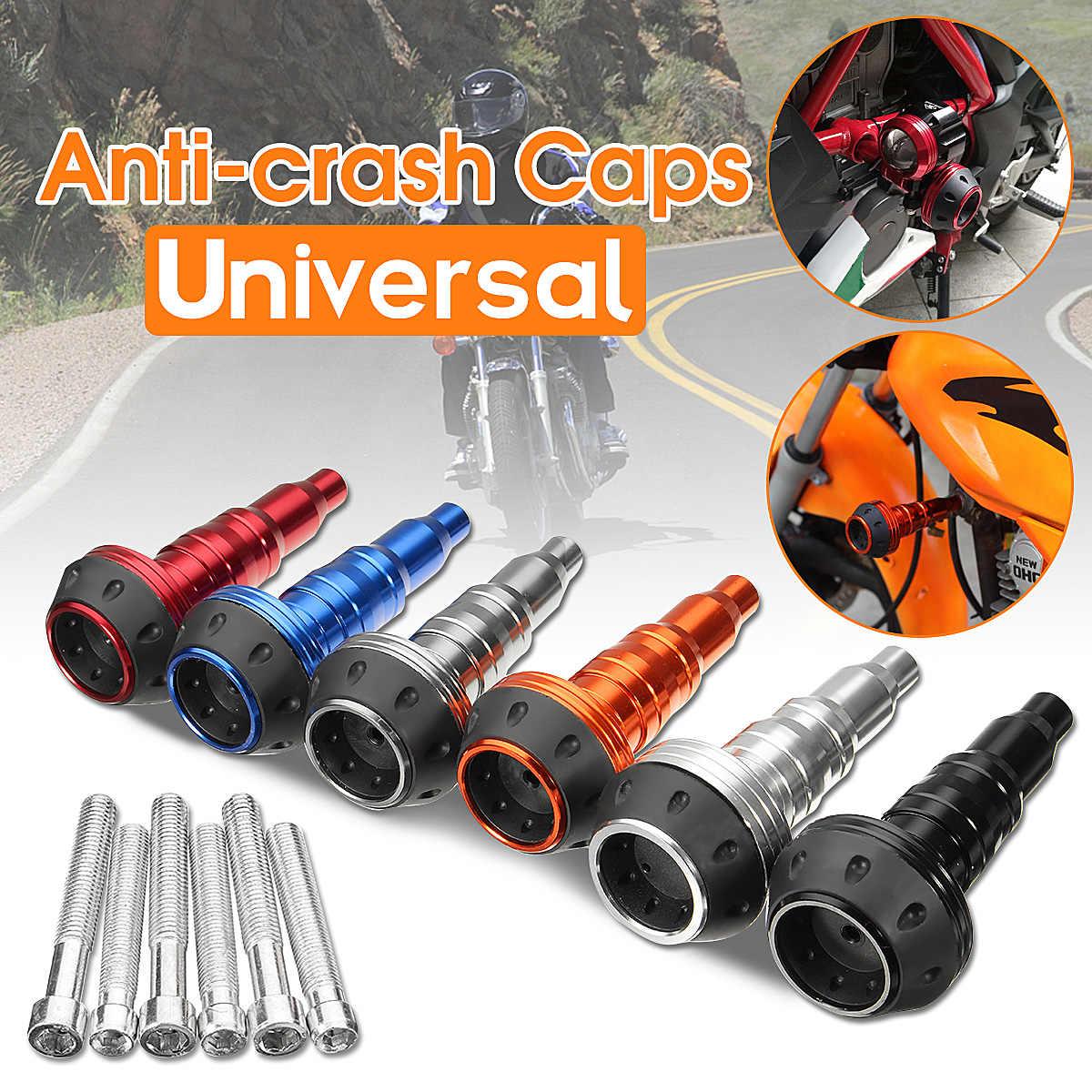 Universal Motorcycle Bike Frame Exhaust Slider Falling Protector Anti Crash Pad