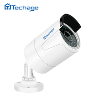 Techage H.265 4MP 2592*1520 Security POE IP Camera Outdoor Waterproof P2P Onvif Motion Detect CCTV Surveillance Camera for NVR(China)