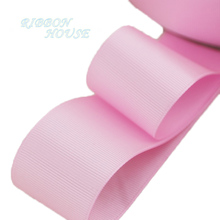 (5 meters/lot) 40mm Pink Grosgrain Ribbon Wholesale gift wrap Christmas decoration ribbons(China)