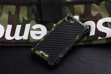 Army Camouflage Silicon Plastic Metal Full Skin Protective Case For iPhone 5 5S 5G iPhone SE Armor Cover Shock Dirty Proof Sport(China)