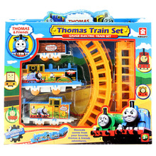 Electric Trains Thomas And Friends Track Toy Simulation Car Train Baby Educational Toys & Hobbies Toys Kid Birthday Gift