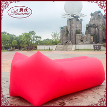 outdoor travel fast inflatable air bed inflatable lazy boy sofa chair air bean bag lounger