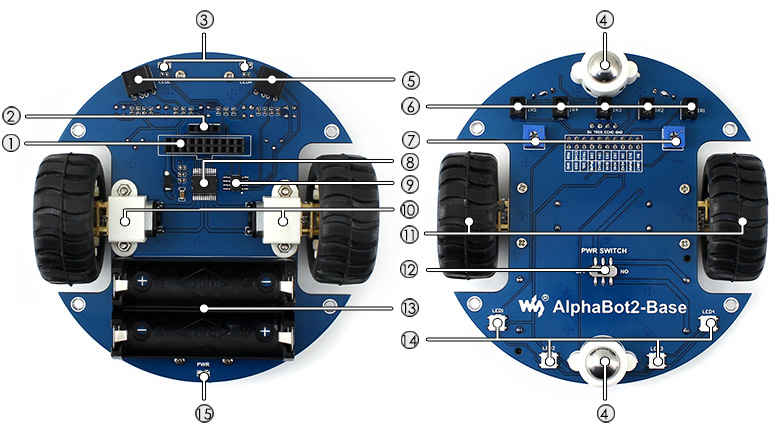 AlphaBot2-Base-intro