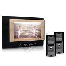 "Luxury 7"" Video Door Phone Intercom System With 700TVL Camera For Villa House"