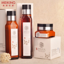 Anti Sensitive allergic Silk Essence Skin Care MEIKING fragrance free Refreshing Cream Set Cleanser + Lotion + Essence Cream