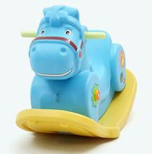 Hot Ride on Horse Animal Toys Swing Rocking Chair Rocking Horse Fitness Environmental PE Material Sports Kids Toys(China)