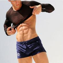 Buy 2018 men's brand AQUX Summer Men Swimsuits Beach Surf Swimming trunks Sports Suits Trunks Sexy Men bathing boxers beach shorts