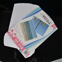 115g thin photo paper A4*100 sheets for color inkjet printing printer
