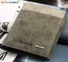 Comfystyle Bifold Men's Leather Wallet ID Business Credit Card Holder Clutch Purse  san_07PM
