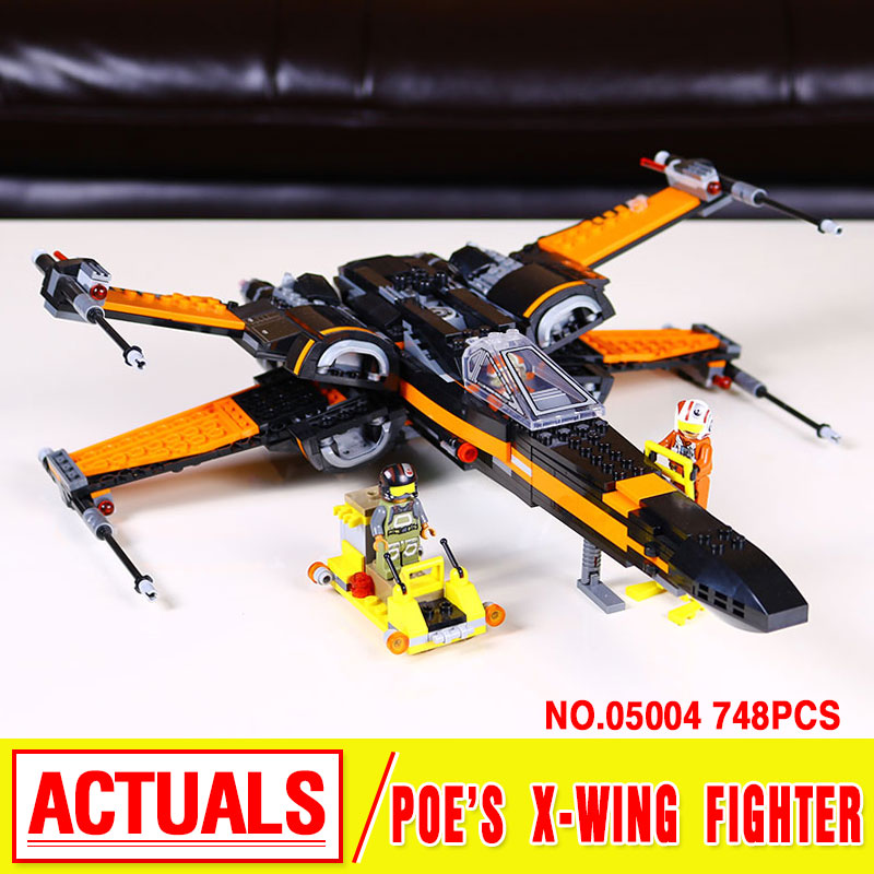 Lepin 05004 Star War Series The First Order Poes X-wing Fighter Building Assembling Blocks  Compatible 79209<br><br>Aliexpress
