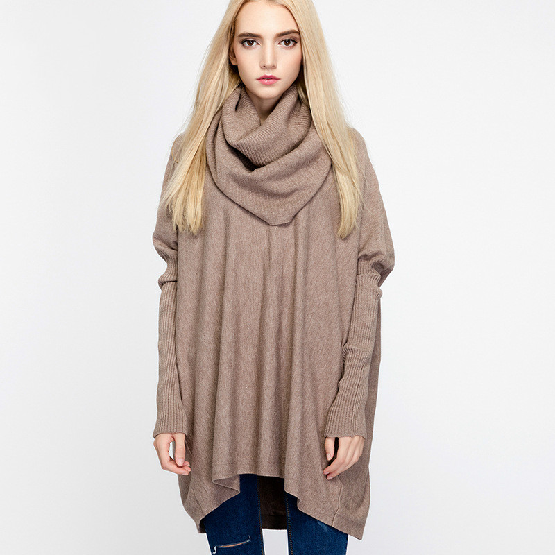 Buy cowl neck sweater and get free shipping on AliExpress.com