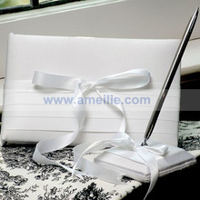 Free shipping !! wedding guest book&pen holder /weedding gift/wedding favor