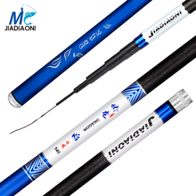 2017 JIADIAONI 28 Tonal 3.6m/4.5m/5.4m/6.3m/Carbom Fiber Taiwan Fishing Rod Telescopic Fly Carp Fishing Pole Fishing Equipment(China)