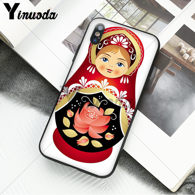 Russian matryoshka Dolls Coque