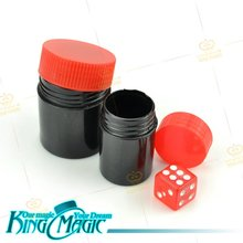 Crazy Cube Children Kids Magic Tricks Free Shipping Dice Prediction Props Toys