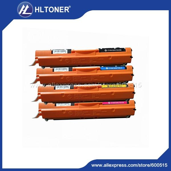 4pcs/set Compatible Color Toner Cartridge CAN CRG129/CRG329/CRG729 For Canon LBP7010C/7018C<br><br>Aliexpress