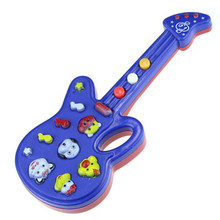 Hot Cute Cartoon Guitar Animal guitar Toys Nursery Rhyme Music Children Baby Kids Gift Toy Guitar Music Instrument kids Toy