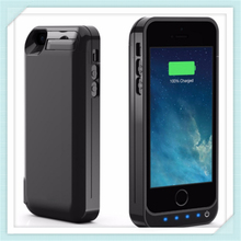 New 4200mAh Extended Rechargeable Battery Case Built in USB Power Bank Capacity For iPhone 5 5s 5C 5 SE battery case(China)
