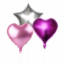 18in Heat Balloon Helium Foil Balloons Star Shape Birthday Wedding Decoration Inflatable Air Balls Event Party Supplies