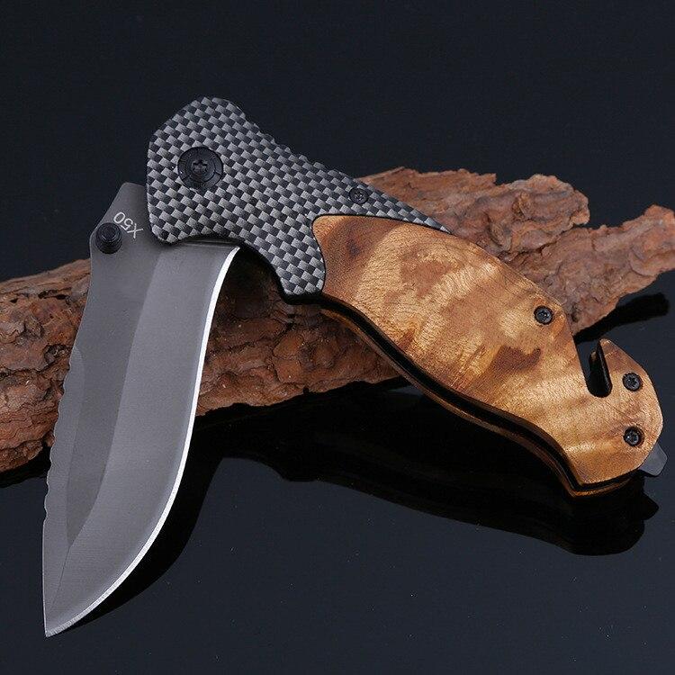 титановый нож на рыбалке