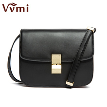 Vvmi bolsos women vintage messenger bags classical chic single shoulder handbags girls crossbody bags female small flap(China)