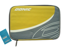 Donic D62027 Yellow Gray Pro Table Tennis Ping Pong Paddle Bag