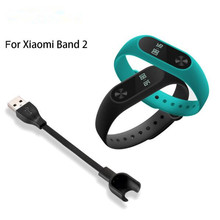 1Pcs USB Charging Cable For Xiaomi Mi Band 2 Replacement Cord Charger Adapter For Xiaomi Miband 2 Smart Wristband Accessories(China)