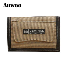 1 pcs Casual Men Canvas Wallets With Coin Zipper Short Purse For Credit Card Boy Student 3 Fold Purse Carteira