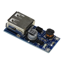 Free shipping 0.9V-5V to 5V DC-DC USB Voltage Converter Step Up Booster Power Supply Module