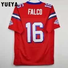"YUEYA ""The Replacements"" Movie Jerseys #16 Shane Falco American Football Jersey Mens Cheap Red S-3XL"