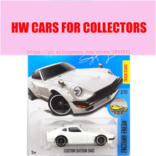 2017 Hot Sale 1:64 Car wheels White Custom Datsun 240Z Metal Diecast Car Lover Collection Vechile Toys For Children Models(China)