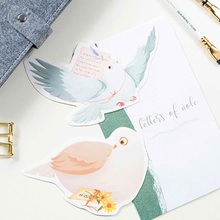30pcs carrier pigeon send love style memory postcard invitation Greeting Cards gift Christmas postcard & invitation