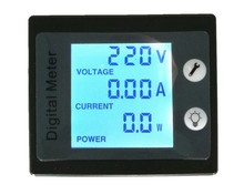 Ac power metering electricity monitor meters multi-function digital voltage meter ammeter power meter