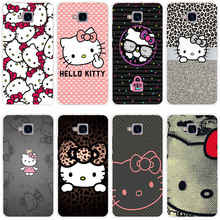222GH Hello Kitty Fashion Transparent Cover for Huawei Honor 5C no Without The Fingerprint Hole Version For RU