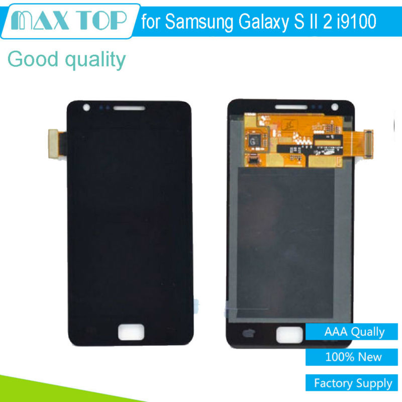 100% tested 4.3 800*480 For Samsung Galaxy S 2 II i9100 LCD Display Touch Screen Digitizer Assembly Replacement Quick Shipping<br><br>Aliexpress