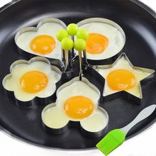 Best Seller Cooking Tool Stainless Steel Breakfast Fried Egg Mold Ring