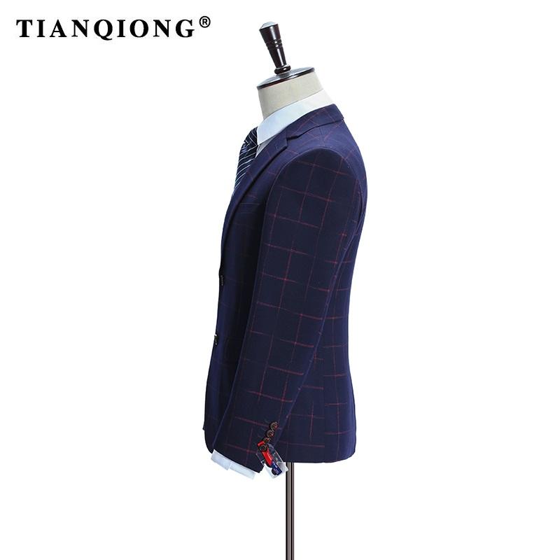 HTB1p2VBSpXXXXayXpXXq6xXFXXXe - TIAN QIONG Brand Plaid Suit Men 2017 Slim Fit Mens Formal Wear Male Business Suits High Quality 3 Piece Groom Wedding Suit S/3XL