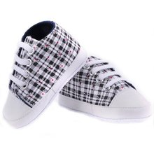 New High quality baby shoes girls boys 2017 fashion rainbow canvas shoes soft prewalkers casual baby shoes WY-01